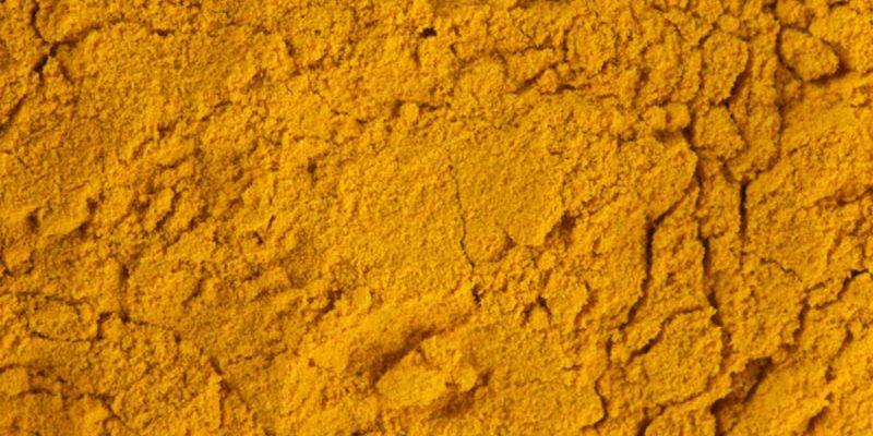 Kräuter und Gewürze Curcuma Pulver